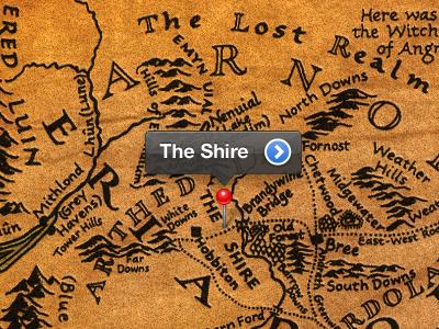 Middle Earth Map by Darren Geraghty | Dribbble | Dribbble