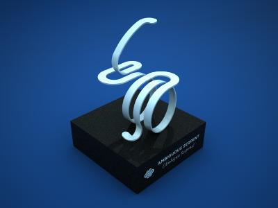 Squarespace Ambiguous Serpent squarespace6 squarespace logo identity 3d trick sculpture model serpent snake