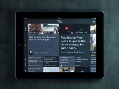 iPad Wood Render wood landscape ios apple ipad app icons render ticker news