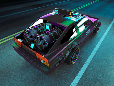 CyberPolice | Nissan 300zx