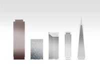 Skyscrapers of San Francisco