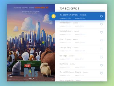 Daily UI / #19  Leaderboard
