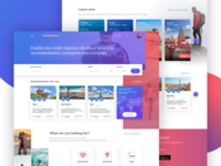 Your Travel Experience - Homepage Concept