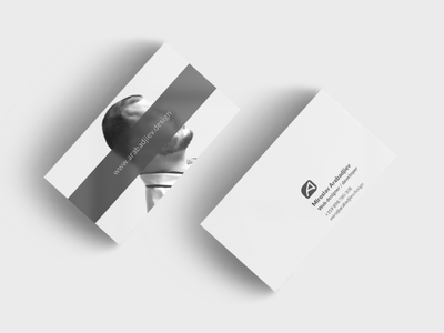 Arabadjiev Business Card businesscard webdesigner