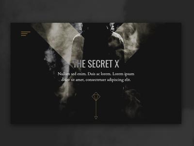 Secret Website Concept