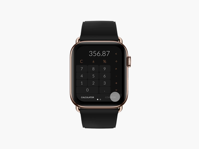 Calculator & Currency Converter Apple Watch
