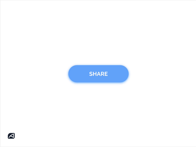 Share Button Animation social media share button button animation button states button uidesign uiux animation share dailyui
