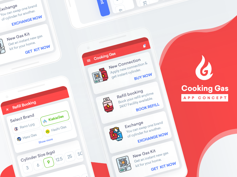 Gas Finder App >> Cooking Gas App Concept By Soeb On Dribbble