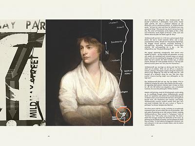 Newington Green book graphic design typography layout magazine