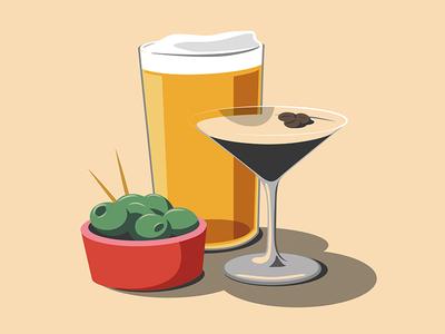 Drinks Illustration product drinks