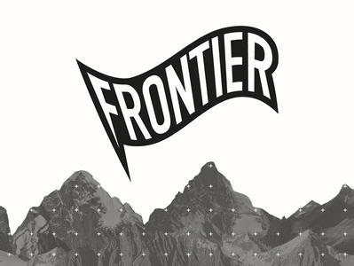 FRONTIER logo branding