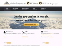 Aviation Law Group Website