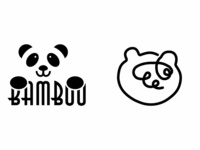 #dailylogochallenge - Panda Logo
