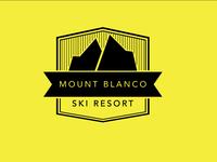 Daily Logo Challenge - Day 8 Ski Mountain