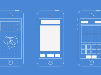 Photobooth app - iOS wireframe