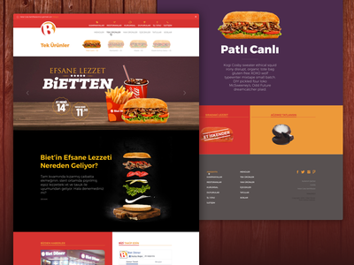 Biet Doner webdesign food biet illustration turkish doner