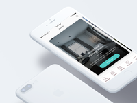 Discover Page Highlights — Hotel iOS App