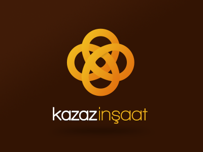 Kazaz İnşaat Logo kazaziye kazaz inşaat logo logotype building