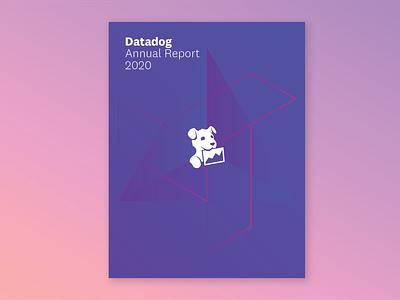 DD Annual Report hexagons ebook cover art hexagon vector design branding