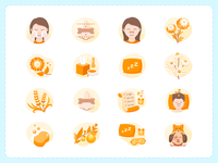 Breathe Right Icons