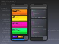 On-The-Go Code Editor for iOS