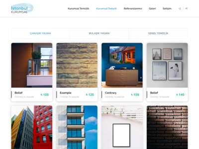 Re-design for Istanbul Kurumsal cleaning company #2