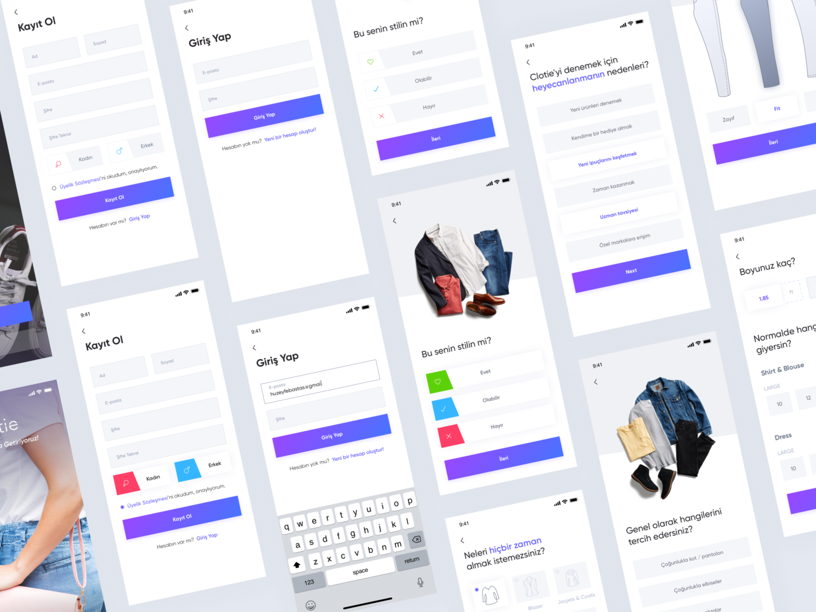 Clothing Style Creation App By Emre Huzeyfe Bastas On Dribbble