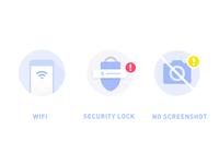 wifi, security lock, no camera