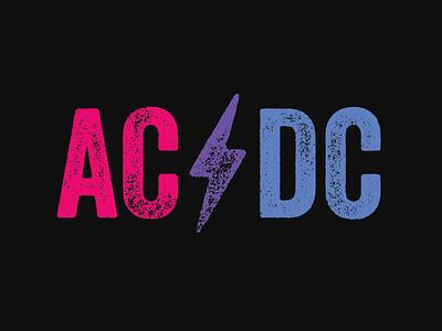 AC ⚡️ DC pride t-shirt lgbtq