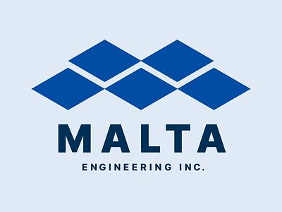 Malta Engineering Logo logo