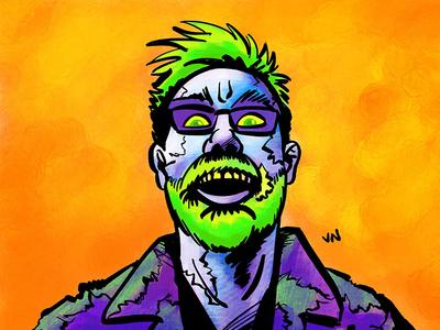 Juice Demon Josh procreate ipad pro illustration avatar halloween