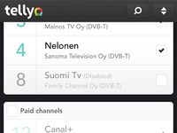 Tellyo remote Android app