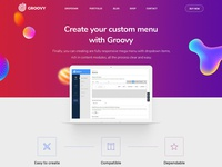Groovy Wordpress Mega Menu Plugin