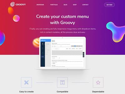 Groovy Wordpress Mega Menu Plugin plugin codecanyon javascript web elements 2019 trendy new mega menu interface menu wordpress