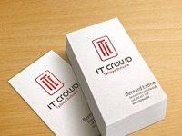 IT Crowd - business cards