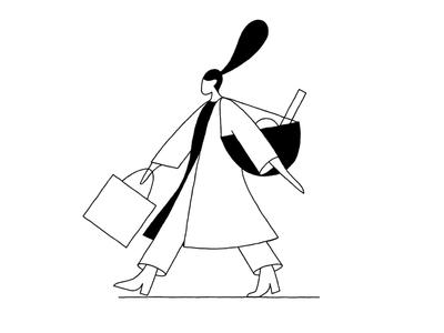 Shopping shopping tote bags store department store department bijenkorf walkcycle walk loop bag shop