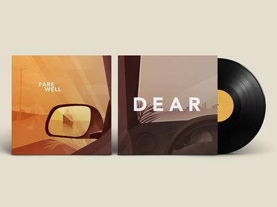 D E A R albumcover fare well cover dear music