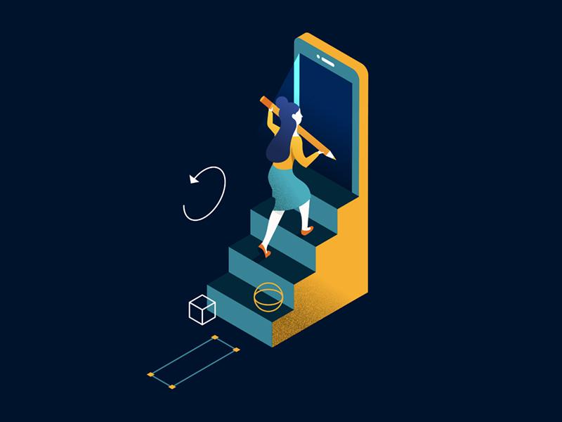 Sketch 3.8 ios mirror undo stepback stairs step
