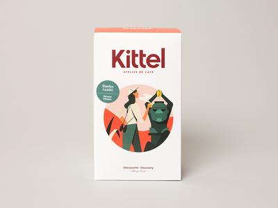Kittel Coffee surfer racer astronaut coffee explorer jungle roaster montreal