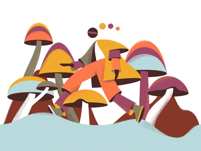 Shrooms coffeecup octobercup october fall mushrooms