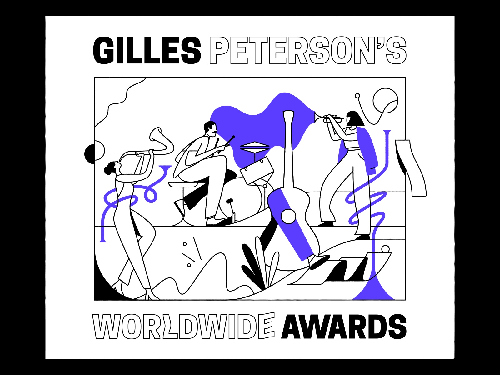 Gilles Peterson playing instruments music peterson gilles worldwide awards