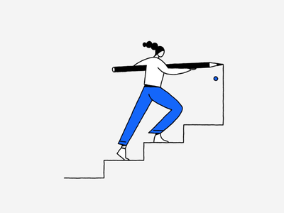 Basic Income drawing doors stairs basic income initiative potential