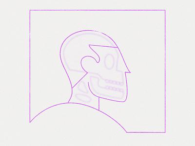 Skull monkeys lens flare gaussianblur see-through skeleton blur skull