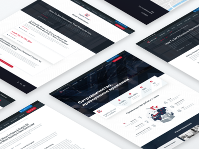 Logistic Group landing page