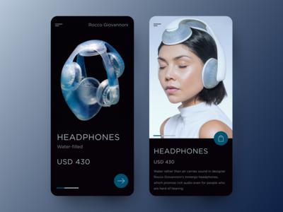 Headphones - Mobile Design