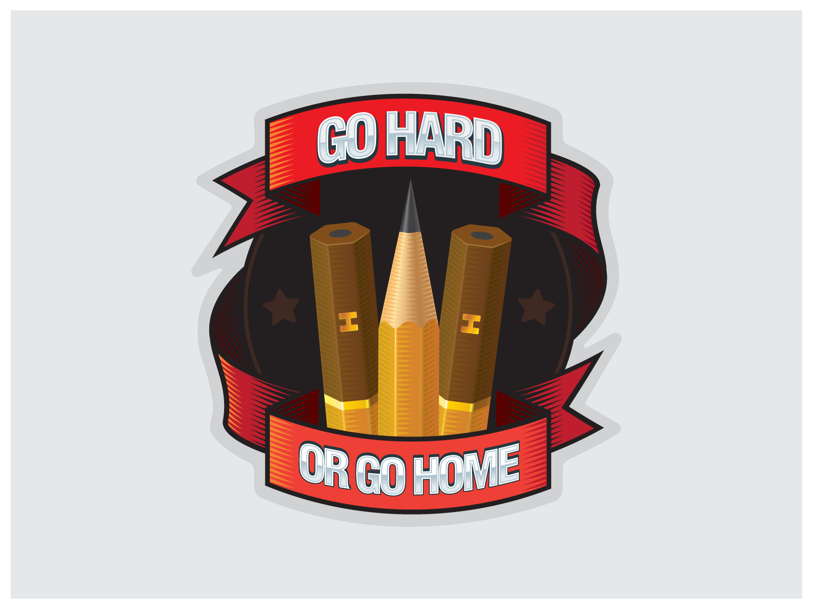 Go Hard Or Go Home Artist Edition By Wadim Semin On Dribbble
