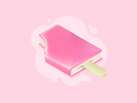 Ice cream Book icon
