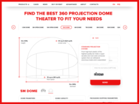 Buy or Rent page for Fulldome.pro