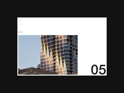 Jason O'Rear — Project Intro portfolio photography architecture figma web design minimal editorial logo design website colour layout ux grid typography ui