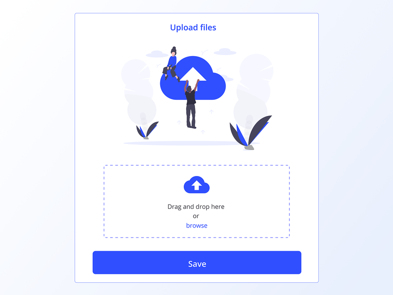 031 File Upload file sharing website minimal flat icon grid app design ux interface dailyui app design ui dropbox file upload